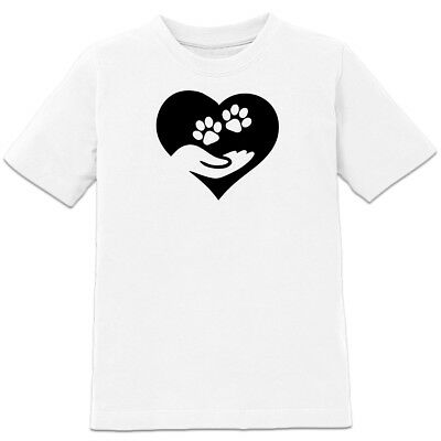 Hand and Pawn Heart Kinder T-Shirt