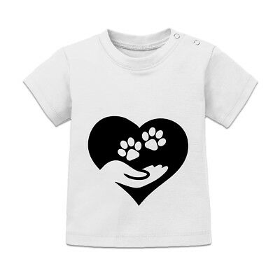 Hand and Pawn Heart Baby T-Shirt