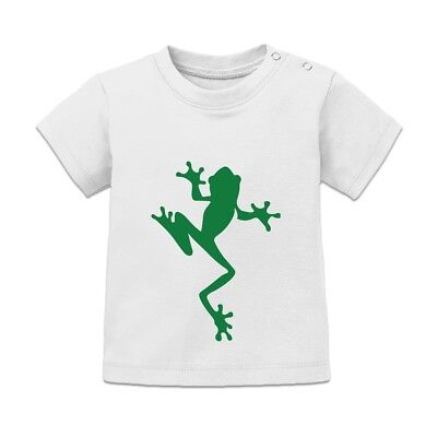 Tree Frog Silhouette Baby T-Shirt