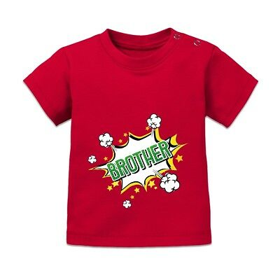 Brother Comic Fight Style Baby T-Shirt