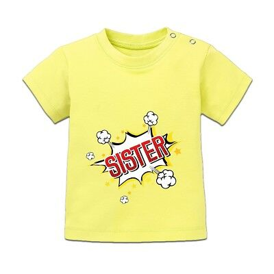 Sister Comic Fight Style Baby T-Shirt