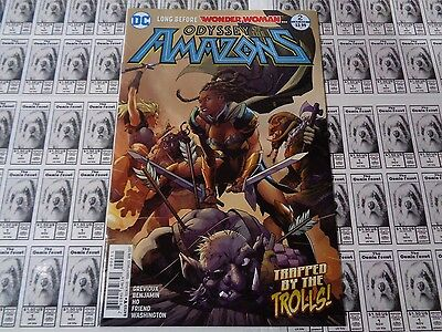 Odyssey of the Amazons (2016) DC - #2, Before Wonder Woman, Grevioux, NM-