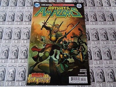 Odyssey of the Amazons (2016) DC - #3, Before Wonder Woman, Grevioux, NM-