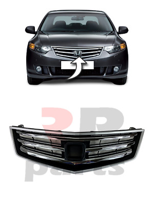 New Honda Accord Front Upper Center Grille With Chrome Trim 2008 - 2012