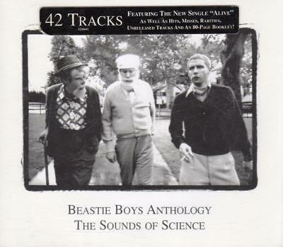 BEASTIE BOYS Anthology The Sounds Of Science 2CD Fatbox 42 Tracks