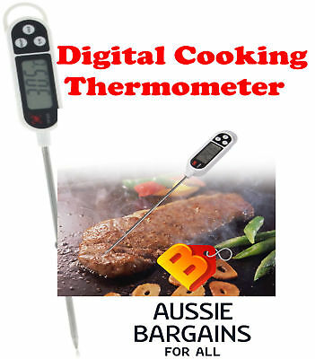 Digital Cooking Meat Probe Stab Thermometer Food BBQ Kitchen Temperature