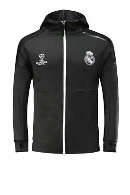 customize soccer training hoodie real madrid team club jacket men and youth kit