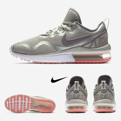 buy online 18d09 af0f8 Nike Air Max Fury Womens Shoes Running Light Bone Grey AA5740-004 SIZE 5