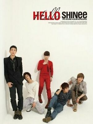 SHINEE [HELLO] 2nd Repackage Album CD+Photo Book+GIFT CARD K-POP SEALED