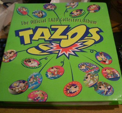 OfficialTazo Collectors Album - with over 200 Tazos