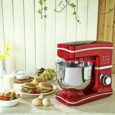 1000W Electric Kitchen Stand Mixer Large Capacity 5L with 8 Speed UK PLUG