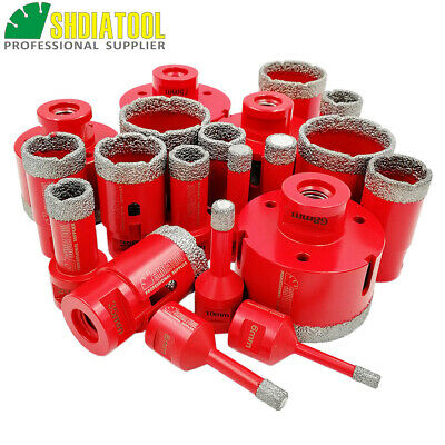 1pc Vacuum Brazed Diamond Drill Core Bits Drilling Hole Saw for Granite Stone