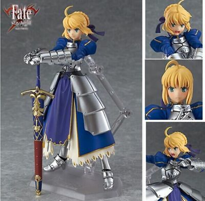 Fate Stay Night Saber 2.0 Action Figure Figurine Toy PVC Gift New No Box