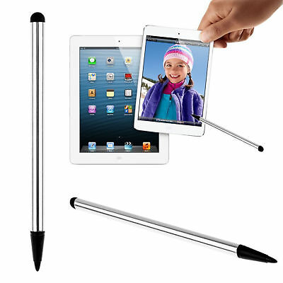 Silver Precision Capacitive Stylus Touch Screen Pen For Smartphone iPhone Tablet