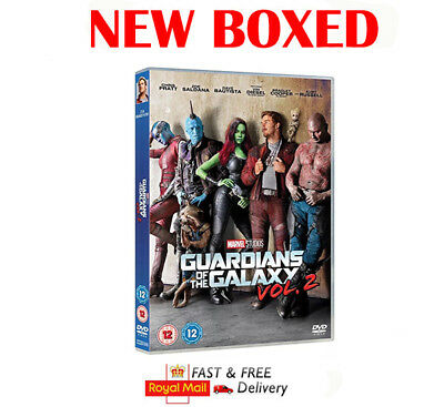 Guardians of the Galaxy Vol. 2 DVD  New & Boxed Fast Same day Dispatch