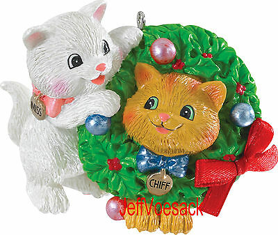 Merry Mischief   (Cats) 2015 Carlton Cards Ornament
