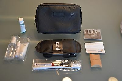 """Gulf Air"" Kulturtasche,Amenity Kit ""Cerruti 1881"" in dunkelblau,Neu!!!"