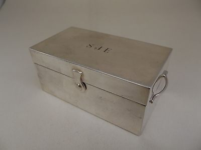 Quality Portuguese Topazio Silver Plate Chest - vintage - jewellery ring box SJE