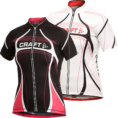 Craft Performance Bike Tour Jersey Black Fuchsia, Ladies/ Woman