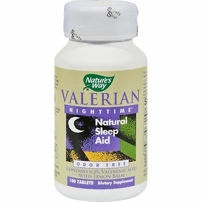 Nature's Way Valerian Nighttime - 100 Tablets