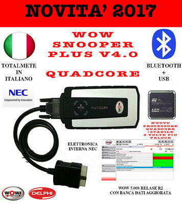 Novita Assoluta Diagnosi 2017 WOW snooper PLUS bluetooth quadcore