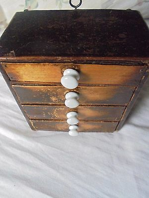 miniature  chest of drawers  jewellery chest