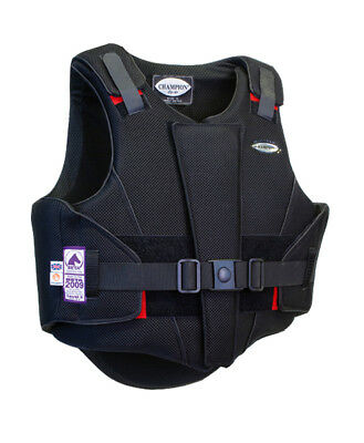 Champion ZipAir Body Protectors - Black/Black