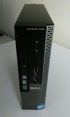 Dell Optiplex 7010 i3-3240 3.40GHz  USFF  8GB RAM  500GB HDD Windows 7 pro(1