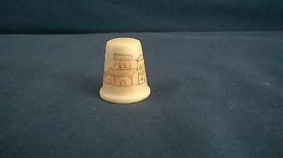 Old Western Town Design Thimble
