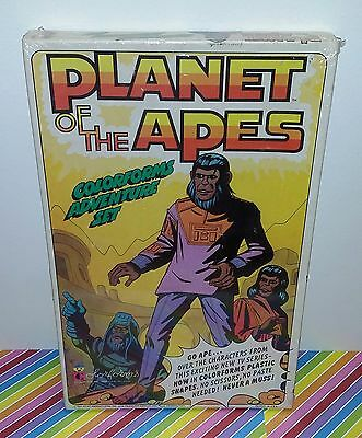 Vintage 70s Planet of the Apes Colorforms Playset Complete