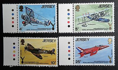 Jersey (1975) Royal Air Forces Association / Planes / Aviation - Mint (MNH)