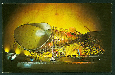 GIANT ANTENNA RADOME Andover ME Earth Station AT&T RCA COMSAT Satellite Postcard
