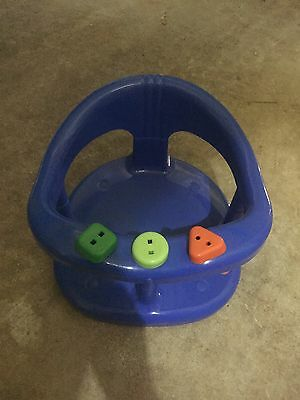 Infant Baby Bath Tub Ring Seat KETER Blue FAST SHIPPING FROM USA