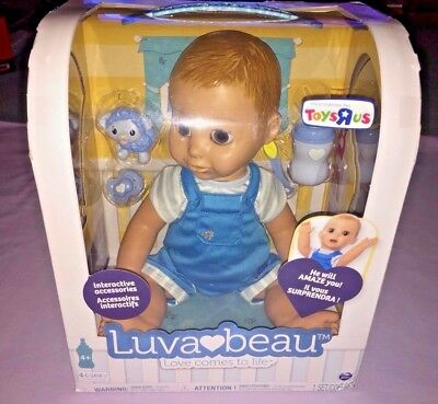 Luvabella Luva Beau Toys R Us Exclusive Boy Doll IN HAND Luva bella **NEW**