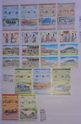 Mint & Used Nevis 1984-1989. 130 Stamps. Values to $10.