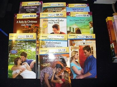 Lot of 10 Super Romance Novels - Most LN - 2000's - Free Shipping