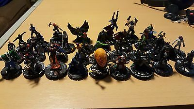 DC HeroClix Collection Lot - Some Very Rare Figures! - 30+ included