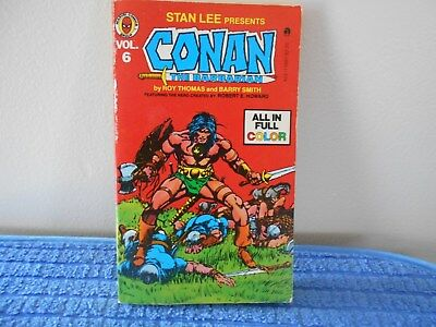 Stan Lee Presents the Complete Conan The Barbarian Volume 6 1978
