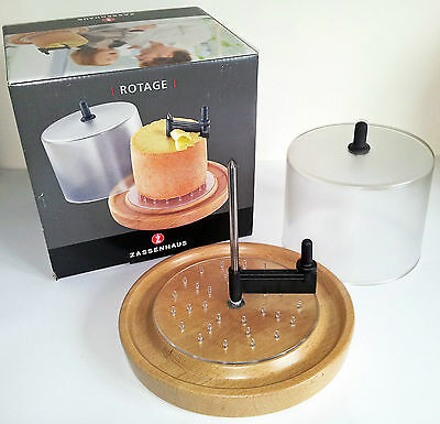 Rotary Cheese Wheel by Zassenhaus for Cheese rosettes or Chocolate petals 070033