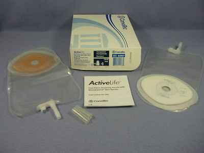 3 Boxes  ConvaTec #64927 ActiveLife 1-Piece Urostomy Pouch w/Stomahesive