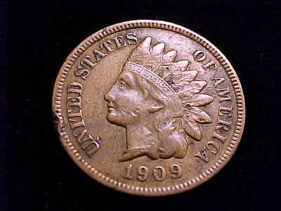 1909-S Indian Head Cent, Full Liberty, a low mintage Bargain!