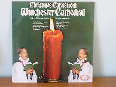 Christmas Carols from Winchester Catherdral Vinyl LP