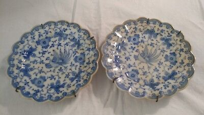 Blue and White Hand painted Chinese plates