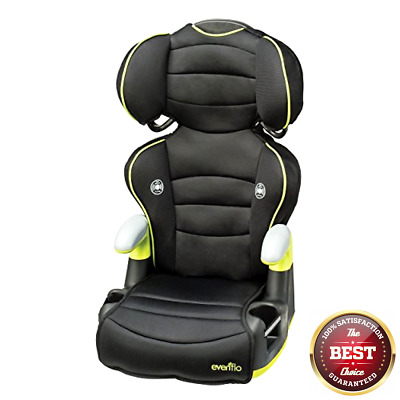 Evenflo Big Kid BOOSTER SEAT, High Back Adjastable BOOSTER CAR SEAT, Naperville