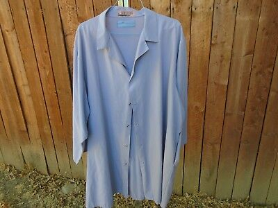 Lab or Shop Coat 2 Mens Blue or White size 3XL $10.00 for Both Coats