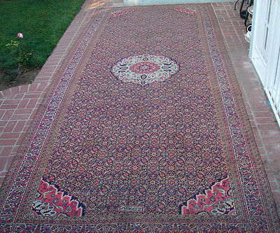 A Long Antique Persian Rug Runner