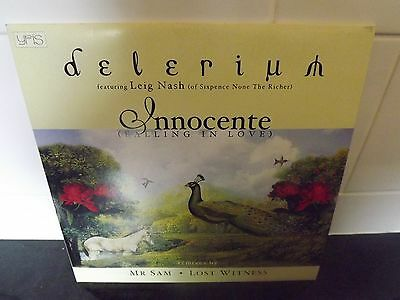 "Delerium ft Leig Nash - Innocente 12"" vinyl single"