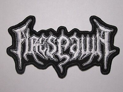 FIRESPAWN logo embroidered NEW patch death metal
