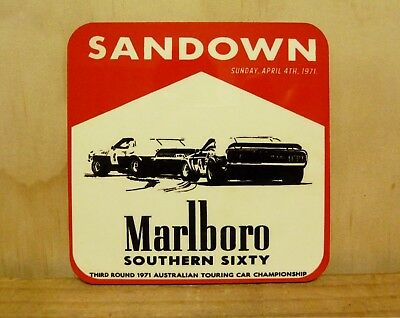 Drink Coaster Set Of 4 - Marlboro Southern Sixty, 1971
