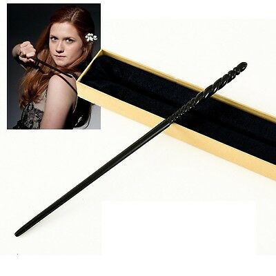 Baguette Ginny Weasley Wand avec BOITE COLLECTOR Harry Potter Olivander box NEUF